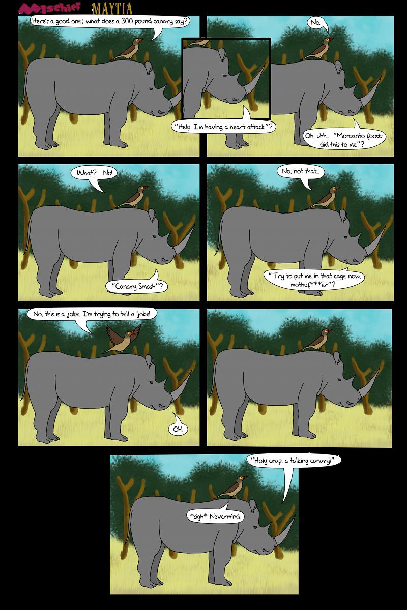 Filler – The Oxpecker Tells a Joke
