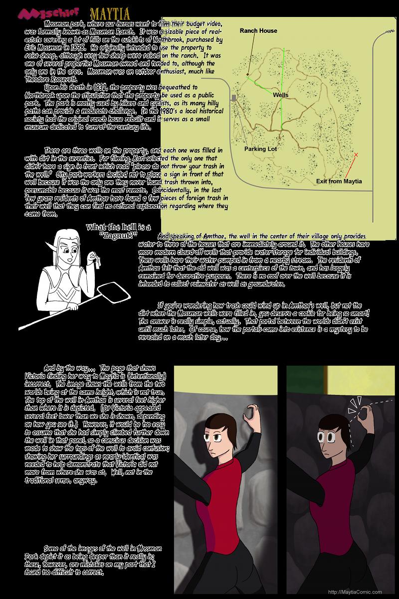 Info – Mossman Park and wells